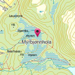 Image from object titled Myrbjønnhola