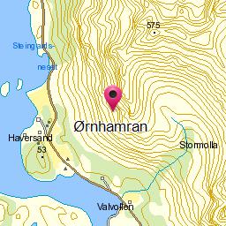 Image from object titled Ørnhamran
