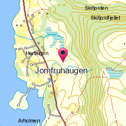 Image from object titled Jomfruhaugen