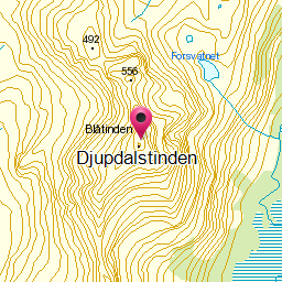 Image from object titled Djupdalstinden