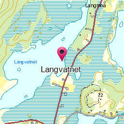 Image from object titled Langvatnet