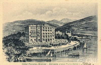 Image from object titled Hotel Pension Breiner – Abbazia