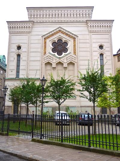 Image from object titled Stora synagogan i Stockholm 21