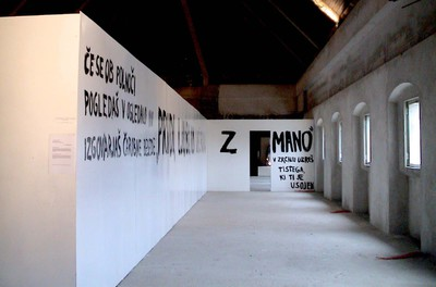 Muzeum Institute 2005 Come, my beloved and dine with me Photo Miha Erman
