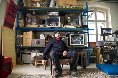 Image from object titled Marko A. Kovacic - portrait - Photo Borut Peterlin