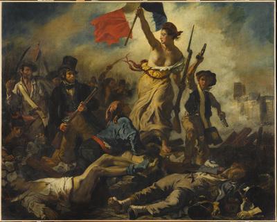Image from object titled la Liberté guidant le peuple