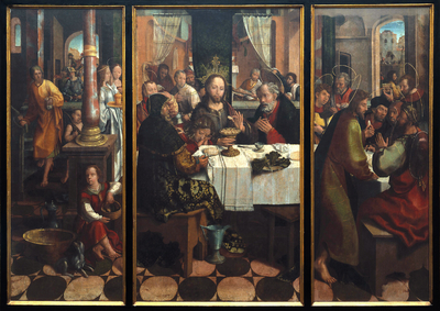 Image from object titled The Last Supper