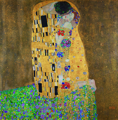 Image from object titled The Kiss