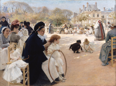 Image from object titled The Luxembourg Gardens, Paris
