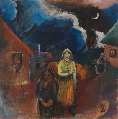 Image from object titled Scenery of Lithuanian Village