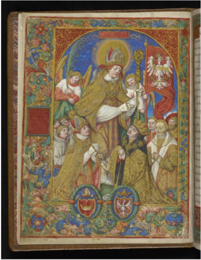 Image from object titled The catalogue of Gniezno's Archbishops