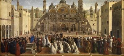 Image from object titled Predica di San Marco in una piazza di Alessandria d'Egitto