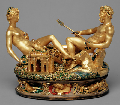 Image from object titled Cellini Salt Cellar