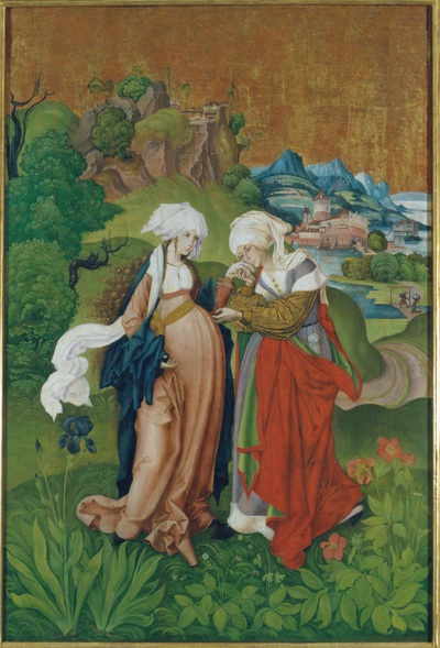Image from object titled The Visitation, from Selmecbánya