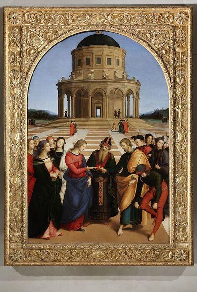 Image from object titled Sposalizio della Vergine