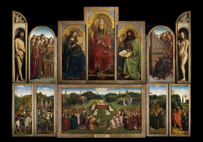 Image from object titled The Ghent Altarpiece