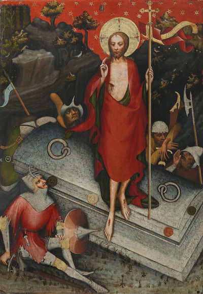 Image from object titled Třeboň Altarpiece Resurrection