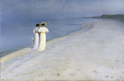 Image from object titled Summer evening on Skagen's Southern Beach