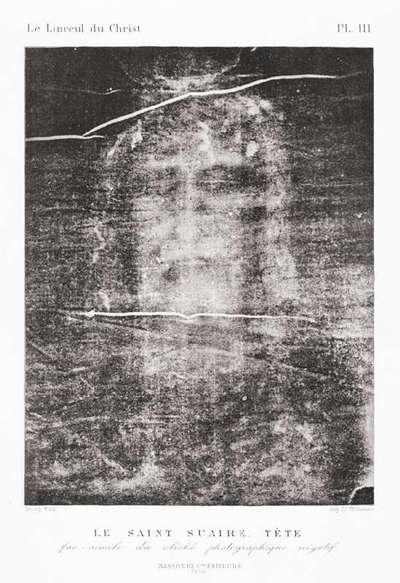 The Shroud of Turin  Head