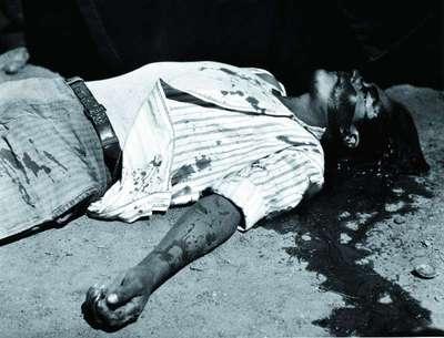Obrero en Huelga  Asesindo (Striking Worker  Murdered)