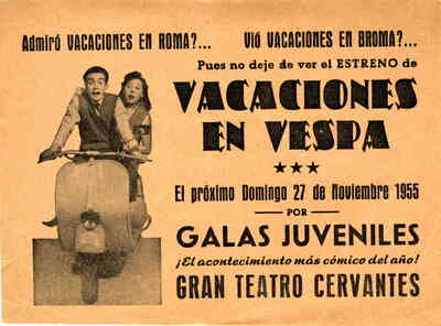 Image from object titled Vacaciones en vespa