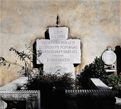Image from object titled Plečnikov nagrobnik tudi v Ilirski Bistrici, 1938