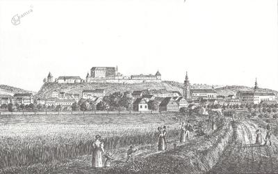 Ptuj v Stari Kaiserjevi suiti (ok. 1825-1832)