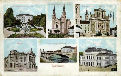 Image from object titled Ljubljana