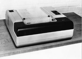 Image from object titled STL: Minicomputer og printer