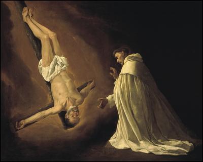Aparición de san Pedro a san Pedro Nolasco
