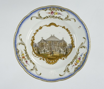 Seven plates from the service of Stadtholder William v