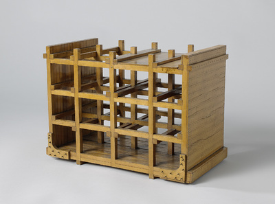 Model of the Construction of a Timber Ship
