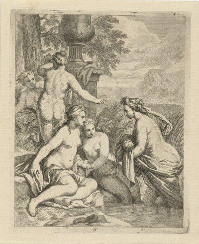 Thetis keert terug bij haar waternimfen; Scènes uit het leven van Achilles; Vitam et mortem achilli
