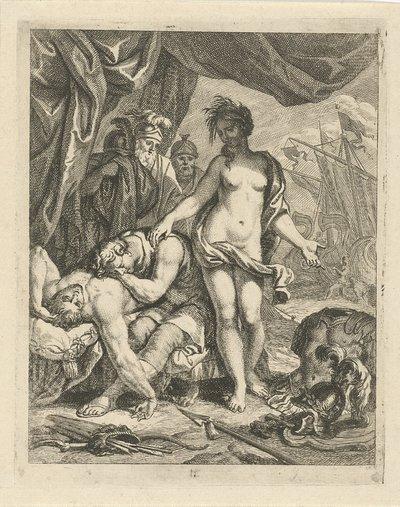 Achilles treurt om de dood van Patroclus; Scènes uit het leven van Achilles; Vitam et mortem achilli