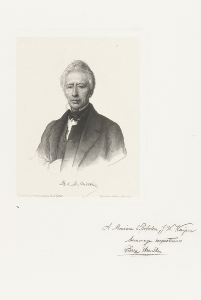 Portret van Barthelemy Dumortier