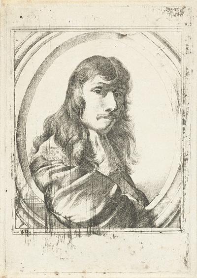Zelfportret van Nicolaes van Helt Stockade