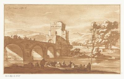 Ponte Molle bij Rome