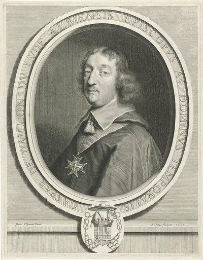 Portret van Gaspar de Daillon du Lude