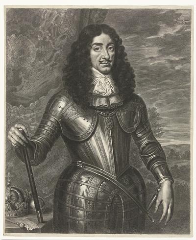 Portret van Leopold I, keizer van Duitsland
