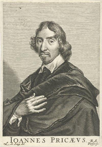 Portret van Johannes Pricaeus (John Price)