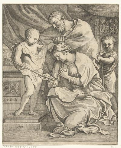 Christus kroont Maria