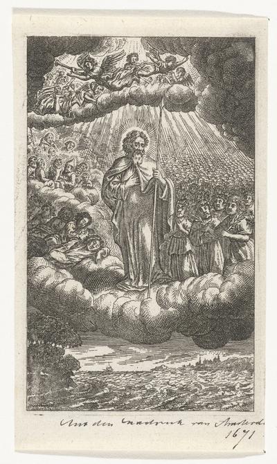 Heilige Thomas in de hemel