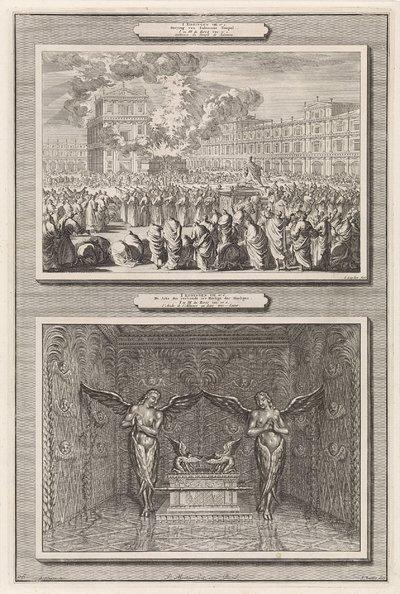 Inwijding van de tempel van Salomo en de ark van het verbond; I Koningen VIII, vs. 1: Inwying van Salomons Tempel / I Koningen VIII vs. 6: De Arke des Verbonds