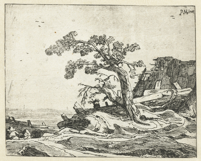Landschap met boom; Vier landschappen
