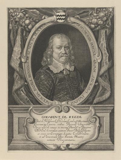 Portret van Godard van Reede; Godardus de Reede