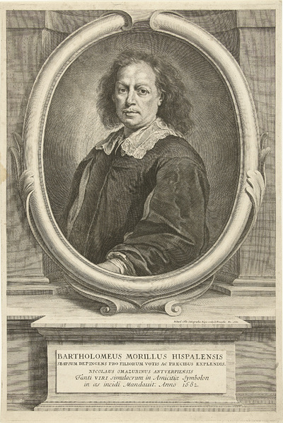 Portret van de schilder Bartolomé Esteban Murillo