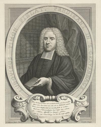 Portret van Ludovicus Timon Pielat