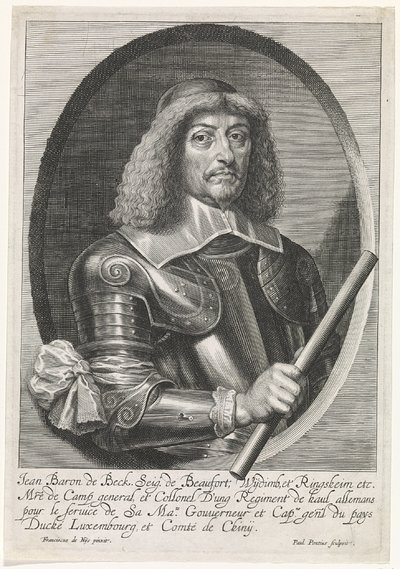Portret van Jean de Beck, heer van Beaufort