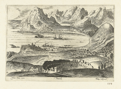 Gezicht op Pozzuoli; Puteoli; Ruinarum varii prospectus