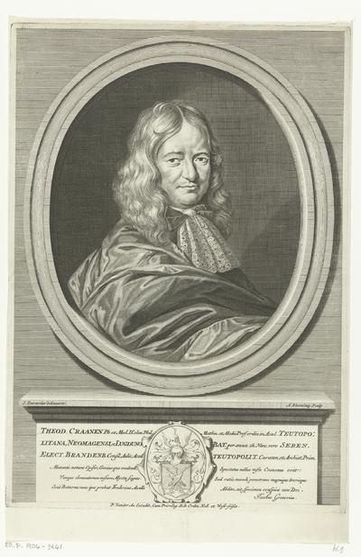 Portret van Theodor Craanen